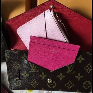 Lv wallet 3 pieces